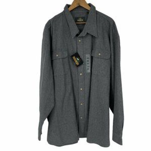Redhead long sleeve button front chamois shirt